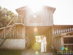 Shanda Burk + Ronnine Edmonds wedding at Boals Farm in Charlesto